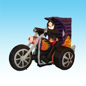 Halloween inflatable - yard inflatable - 7ft. Grim Reaper